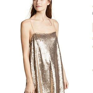 Free People Time To Shine Sequin Mini Slip Dress